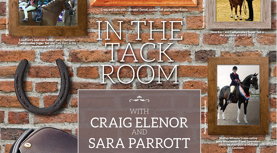 In The Tack Room with Craig Elenor and Sara Parrott