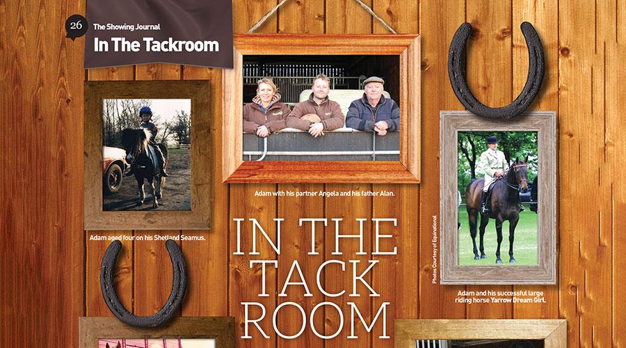 In The Tack Room – Adam Brooke