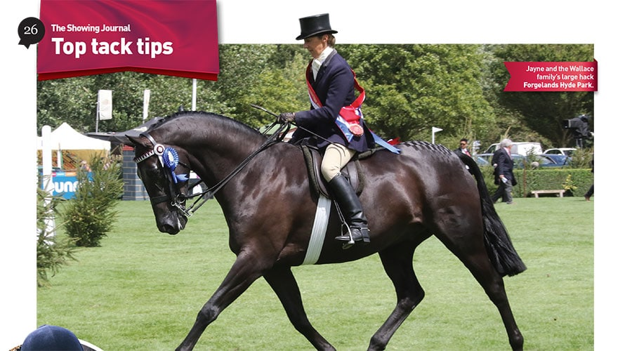 Top Tack Tips with Jayne Ross