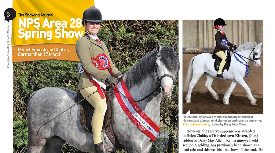 NPS Area 28 Spring Show, 17th March