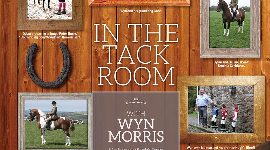 In the Tack Room – Wyn Morris