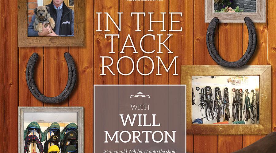 In the Tack Room – Will Morton