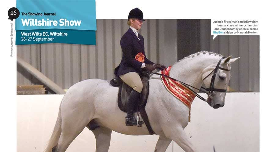 Wiltshire Show – 26 & 27 September