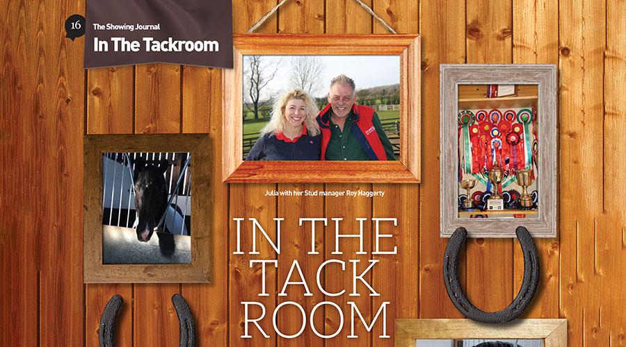 In The Tack Room – Julia Hodkin